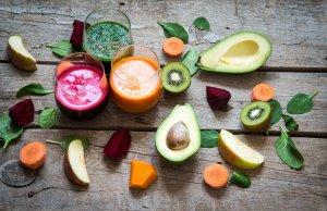 Macronurturens vegtiables, fruit, and Fresh Detox Juices