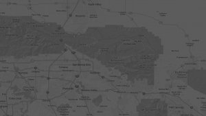 Map of the Inland Empire